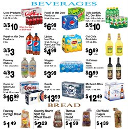 Beer deals in the Fareway weekly ad in Sioux Falls SD