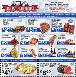 Fareway deals in the Lincoln NE weekly ad