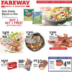 Grocery & Drug deals in the Fareway weekly ad in Muscatine IA