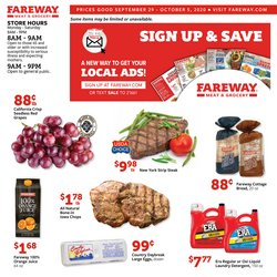 Grocery & Drug offers in the Fareway catalogue in Coralville IA ( Published today )
