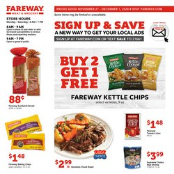 Fareway catalogue ( Expires tomorrow )