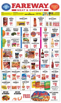 Grocery & Drug offers in the Fareway catalogue in Fairfield CA ( Expires today )