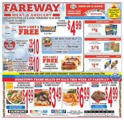 Grocery & Drug offers in the Fareway catalogue in Anderson IN ( 1 day ago )