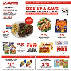 Fareway catalogue ( 2 days left )