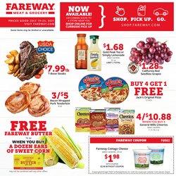 Fareway deals in the Fareway catalog ( 2 days left)