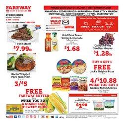 Fareway deals in the Fareway catalog ( Expired)