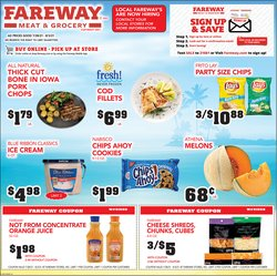Grocery & Drug deals in the Fareway catalog ( Published today)