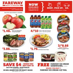 Grocery & Drug deals in the Fareway catalog ( Expires tomorrow)