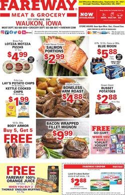 Grocery & Drug deals in the Fareway catalog ( 4 days left)