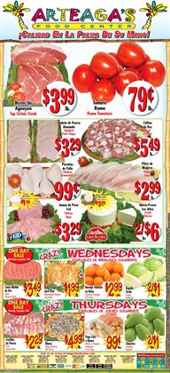 Cheese deals in the Arteagas Food Center weekly ad in Lodi CA