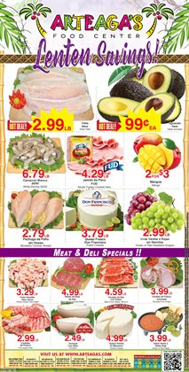 Arteagas Food Center catalogue ( Expired )