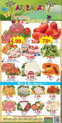 Arteagas Food Center catalogue ( 3 days left )