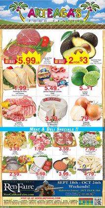 Arteagas Food Center deals in the Arteagas Food Center catalog ( 2 days left)