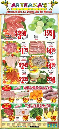 Arteagas Food Center deals in the San Jose CA weekly ad