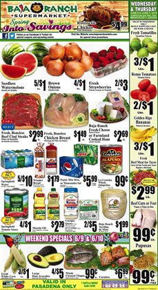 TV deals in the Baja Ranch weekly ad in Whittier CA
