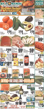 Baja Ranch deals in the Fullerton CA weekly ad