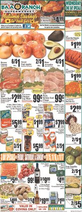Baja Ranch deals in the Covina CA weekly ad