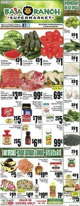 Grocery & Drug deals in the Baja Ranch catalog ( 3 days left)