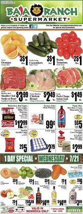 Grocery & Drug deals in the Baja Ranch catalog ( Expires today)