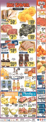 Big Saver Foods catalogue ( Published today )