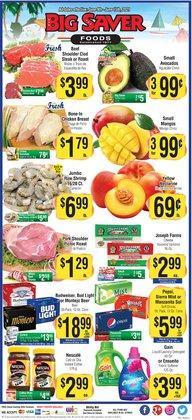 Grocery & Drug deals in the Big Saver Foods catalog ( 3 days left)