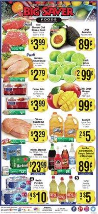 Big Saver Foods deals in the Big Saver Foods catalog ( Expires today)