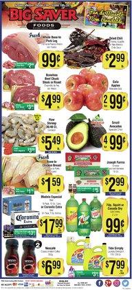 Big Saver Foods deals in the Big Saver Foods catalog ( 3 days left)