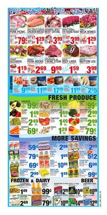 Cow meat deals in the Bravo Supermarkets weekly ad in New York