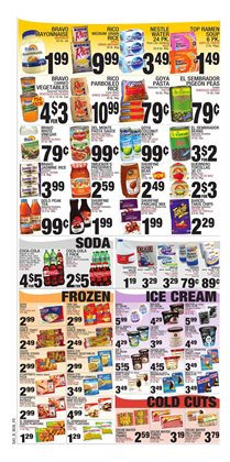 Fruit deals in the Bravo Supermarkets weekly ad in New York