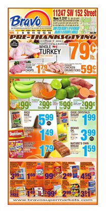 Christmas deals in the Bravo Supermarkets weekly ad in New York