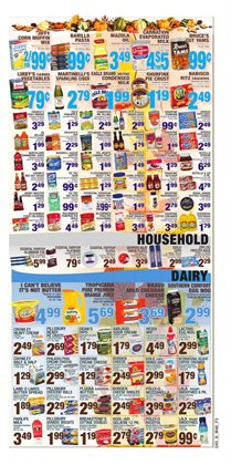 Breakfast deals in the Bravo Supermarkets weekly ad in New York