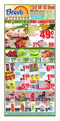 Top deals in the Bravo Supermarkets weekly ad in New York