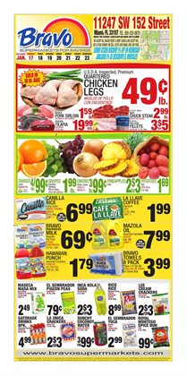 New deals in the Bravo Supermarkets weekly ad in New York