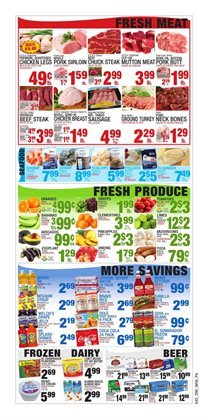 Pharmacy and perfume deals in the Bravo Supermarkets weekly ad in New York