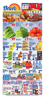 Bakery deals in the Bravo Supermarkets weekly ad in New York