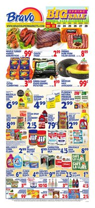 Grocery & Drug deals in the Bravo Supermarkets weekly ad in New York