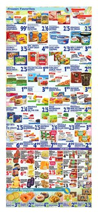 Desserts deals in the Bravo Supermarkets weekly ad in New York
