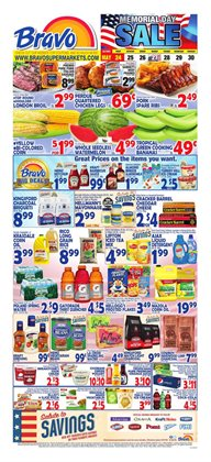 Bravo Supermarkets deals in the New York weekly ad