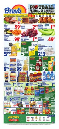 Grocery & Drug deals in the Bravo Supermarkets weekly ad in Wyomissing PA