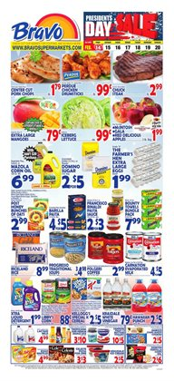Bravo Supermarkets catalogue ( Expires tomorrow )