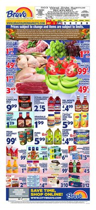 Grocery & Drug offers in the Bravo Supermarkets catalogue in Delray Beach FL ( Published today )