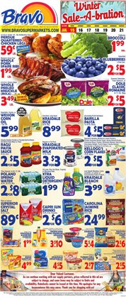 Grocery & Drug offers in the Bravo Supermarkets catalogue in Boca Raton FL ( 3 days left )