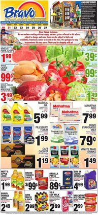 Grocery & Drug offers in the Bravo Supermarkets catalogue in Hialeah FL ( 3 days left )