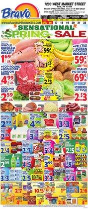 Bravo Supermarkets catalogue in Miami FL ( 3 days left )