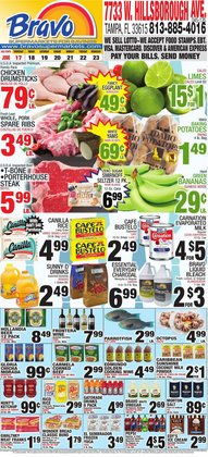 Grocery & Drug deals in the Bravo Supermarkets catalog ( Expires today)