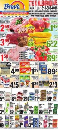 Bravo Supermarkets deals in the Bravo Supermarkets catalog ( 4 days left)