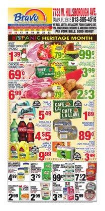 Grocery & Drug deals in the Bravo Supermarkets catalog ( 3 days left)