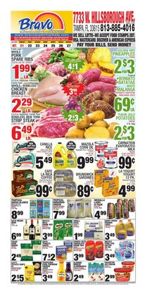 Grocery & Drug deals in the Bravo Supermarkets catalog ( Expires tomorrow)
