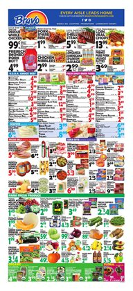Barbecue deals in the Bravo Supermarkets weekly ad in Miami FL