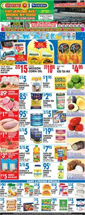 Tuna deals in the Compare Foods weekly ad in New York